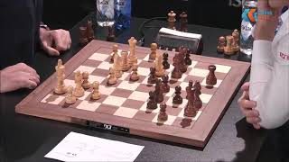GM Kramnik (Russia) - GM Carlsen (Norway) 5 min + PGN