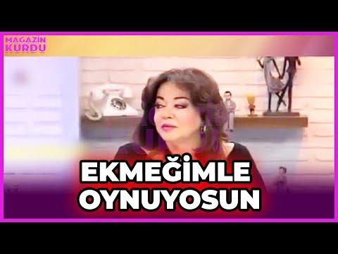 """Lerzan'dan Oya Erdoğan'a Olay Sözler """" Sen Benim Ekmeğimle Oynuyorsun"""""""