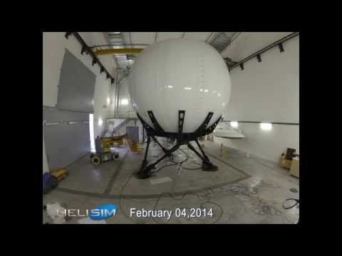 EC175 Full Flight Simulator construction