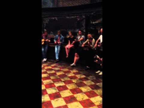 Stephen Rollins Marriage Proposal With The Cast of Once On Tour
