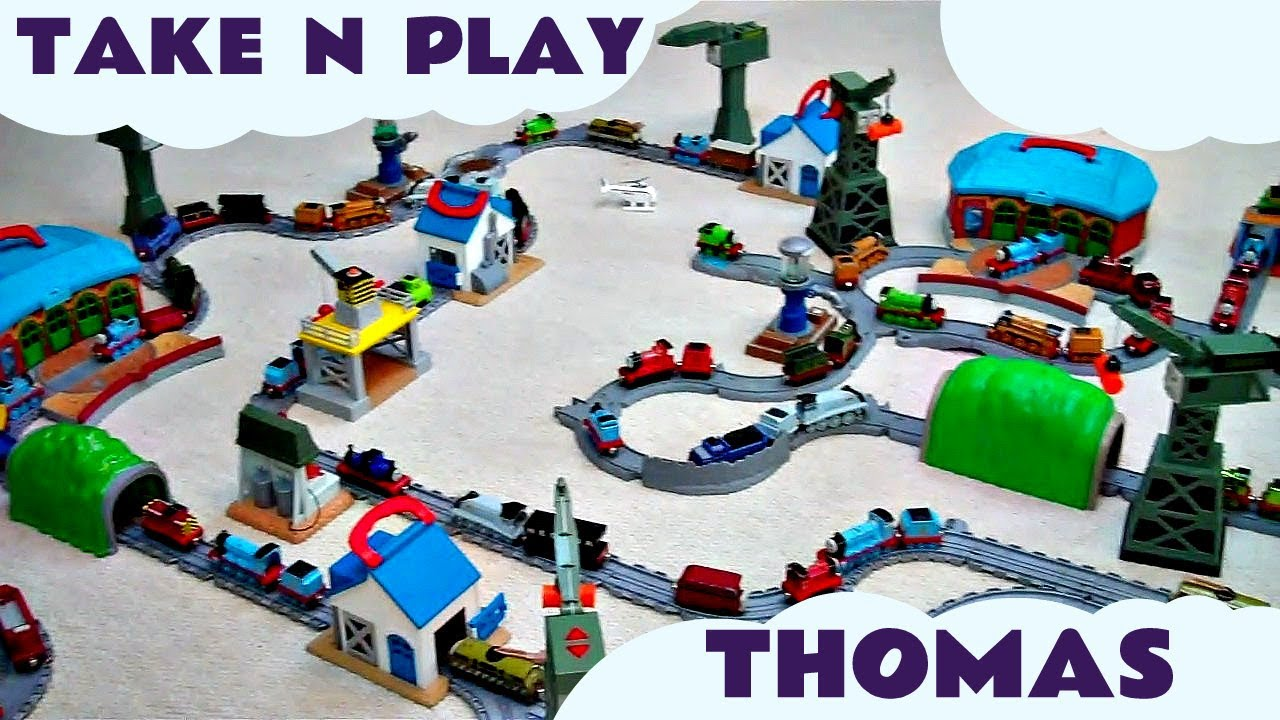 Tidmouth Sheds Playset Thomas Friends Dgc10 Thomas The