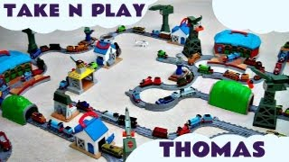 Massive Take Along Take N Play Kids Thomas And Friends Toy Thomas & Friends Train Set