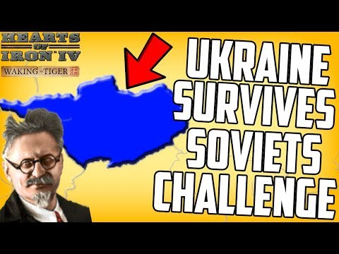 Hearts of Iron 4 HOI4 Ukraine Tries To Survive the Soviets Challenge Weltkrieg Mod