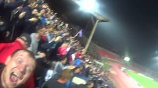 Шикарная атмосфера на матче ФК Енисей (Красноярск) - ЦСКА