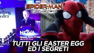 Spider-man Far From Home: Tutti gli EASTER EGG ed i SEGRETI del film
