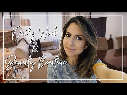EVERYDAY WORK & BEAUTY ROUTINE | Spend a Day In London with Me Vlog | JASMINA BHARWANI