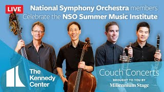 Couch Concert - NSO members Celebrate the NSO Summer Music Institute