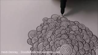 Sleepover Doodle Art Drawing