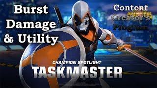 Taskmaster  Burst Damage? [Content Creators Program] - Marvel Contest of Champions