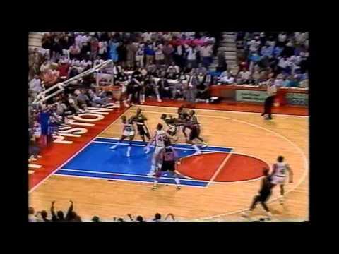 Clyde Drexler: 33 Points Vs Detroit (1990 Finals Game 2)