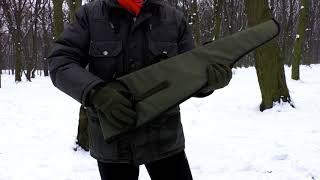 Видео-обзор чехла для ружья с откидным стволом LeRoy