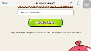 Code for EASTER! Cookie Run