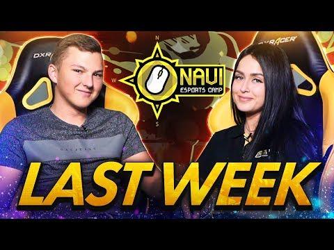 Последняя Неделя NAVI Esports Camp