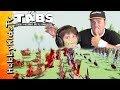 TABS Challenge! Video Gaming Fun HobbyKidsTV