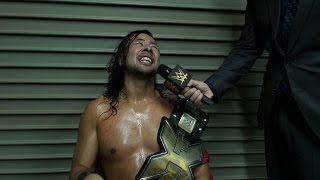 Shinsuke Nakamura reflects on his roots after huge title win in Osaka, Japan: WWE NXT, Dec. 3, 2016