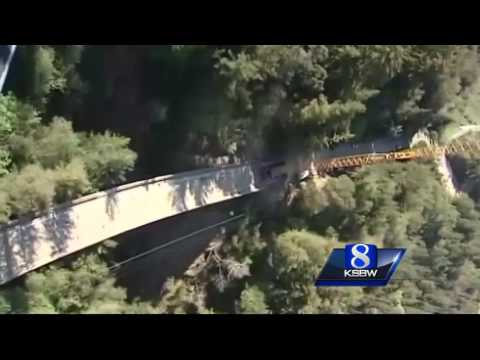 New Big Sur bridge will take at least 9 months to build