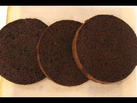 génoise-au-chocolat-pour-layer-cake