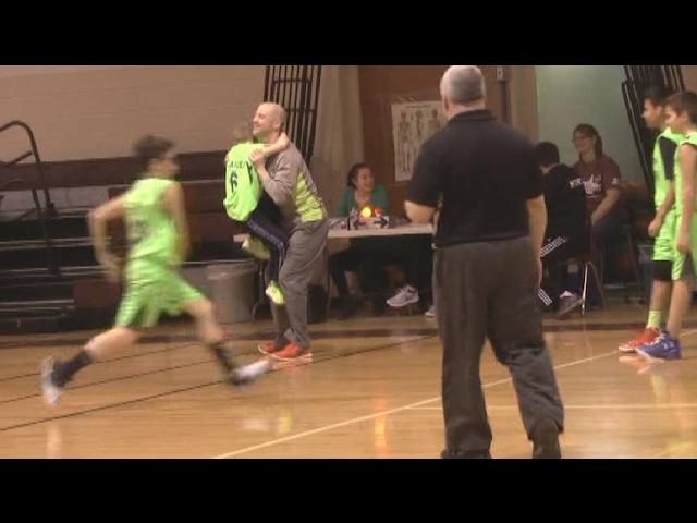 Logan McArdle Shoots & Scores  2-19-17