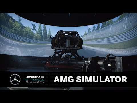 In the Simulator with the Mercedes-AMG Project ONE! 🤯