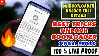 Bootloader, Unlock    Best Tricks    Without Error   Any Xiaomi Device    100% Working