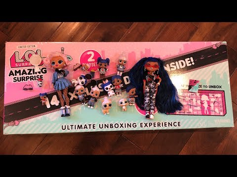 LOL Amazing Surprise OMG Doll 14 Exclusive Dolls Unboxing Toy Review