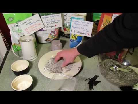 Making Banana Peel & Eggshell Garden Fertilizer: Potassium, Calcium, Phosphorous & More - MFG 2014