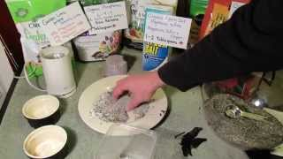 Making Banana Peel & Eggshell Garden Fertilizer: Potassium, Calcium, Phosphorous & More - MFG 2014
