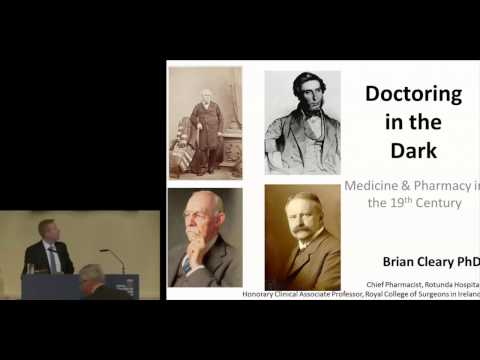 Medicine and pharmacy in 19th century Ireland