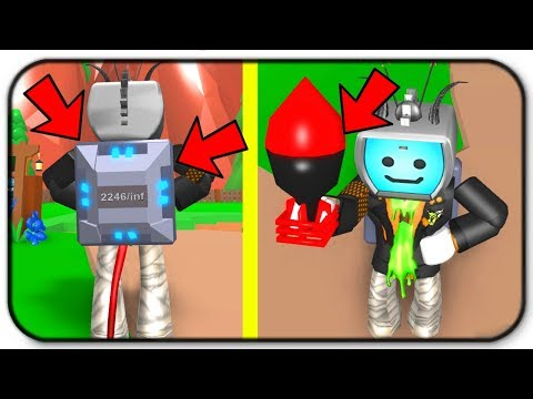 How Overpowered Are The Infinite Backpack And The Nuke - Roblox Mining Simulator