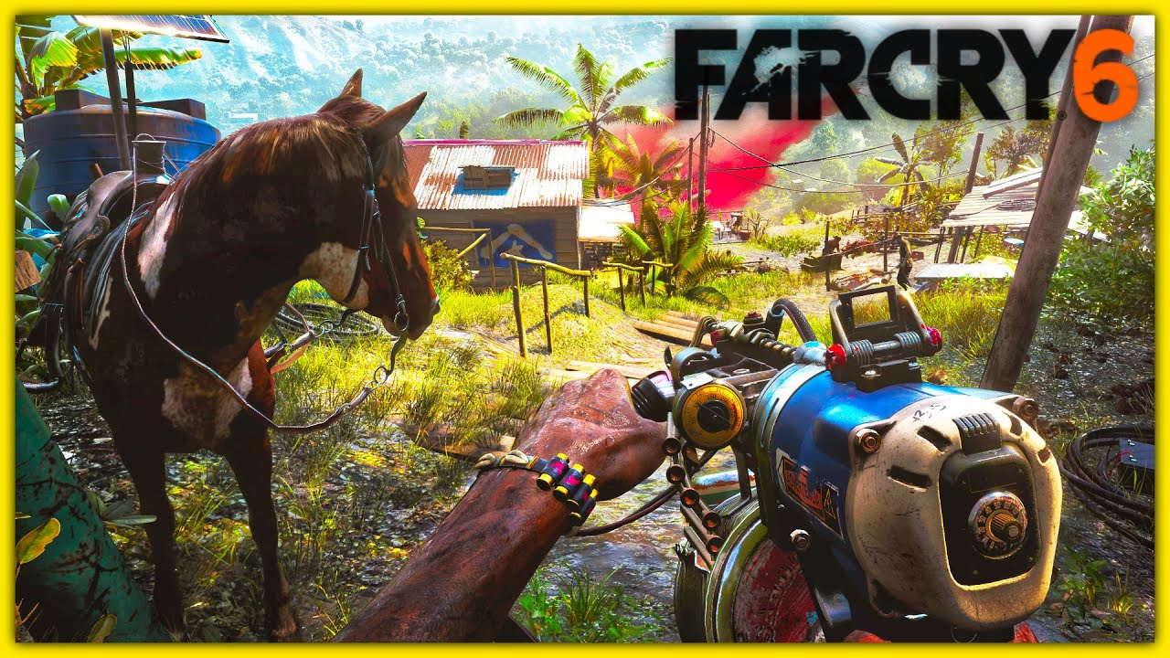 Far Cry 6 Gameplay Screenshots Weapons Characters Customization More Youtube