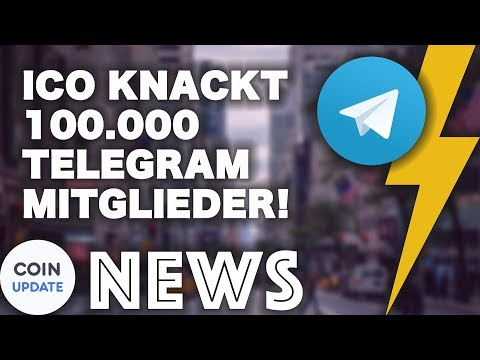 ICO knackt Telegram Rekord | Startet der Telegram Public-Sale? Krypto News 21.02.2018