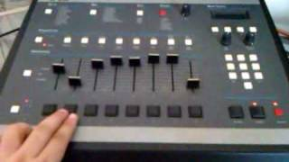 DJ ALX Emu SP1200 Beat Making
