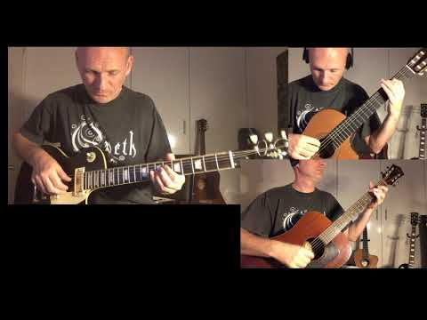 Opeth - Coil  -- Eezerian Full Guitar Cover