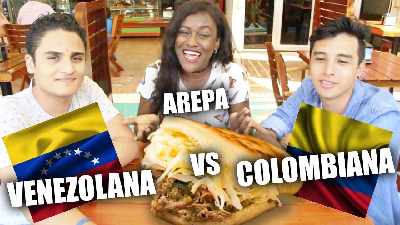 Colombia Vs Venezuela Cual Es La Mejor Arepa Katherineboycej Youtube