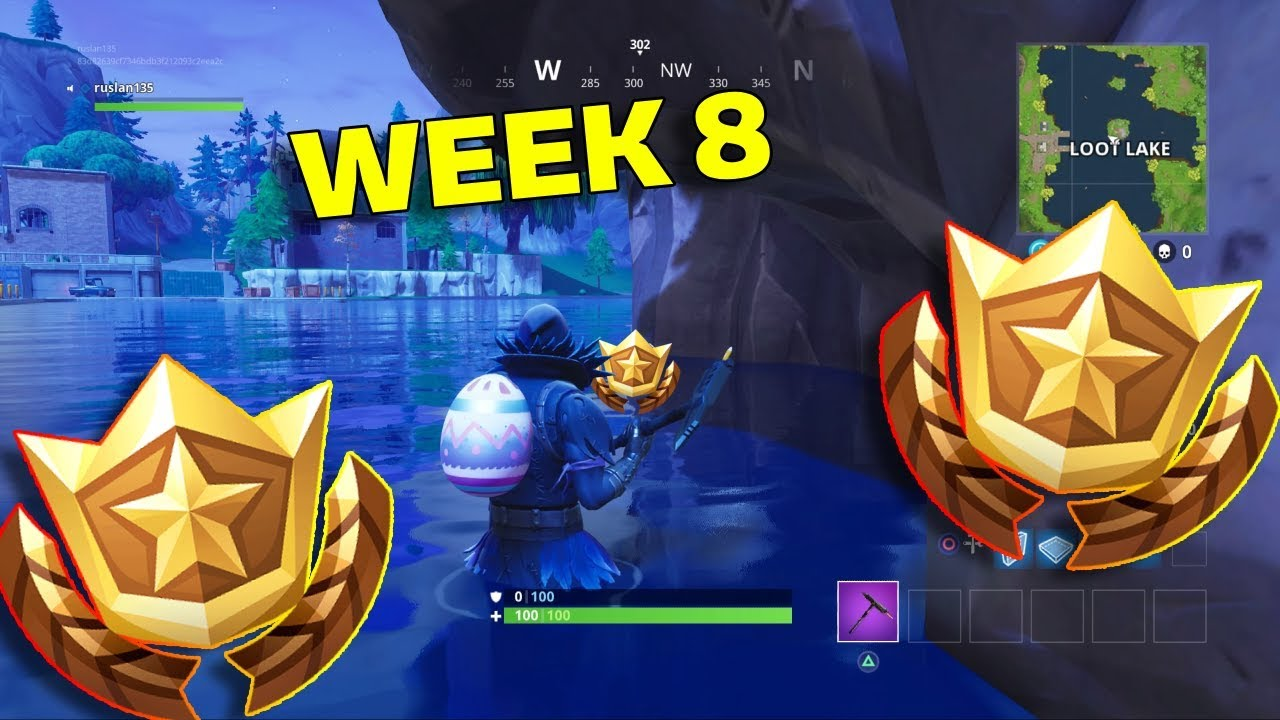Fortnite Week 8 Challenges How To Do The Search Between Three