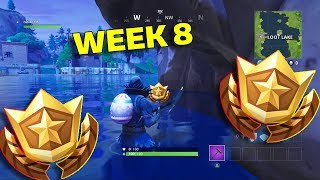 LEAKED Fortnite: TREASURE MAP LOCATION Guide - Search between 3 Boats- Week 8 CHALLENGE