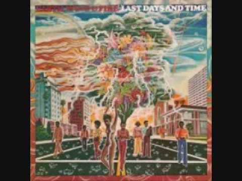 Earth, Wind & Fire - Last Days & Time LP 1972