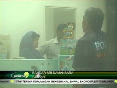 RHB BANK DIROMPAK DI BANDAR SRI DAMANSARA, KUALA LUMPUR