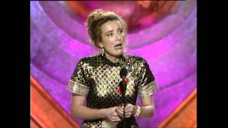 Emma Thompson Wins Best Actress Motion Picture Drama - Golden Globes 1993