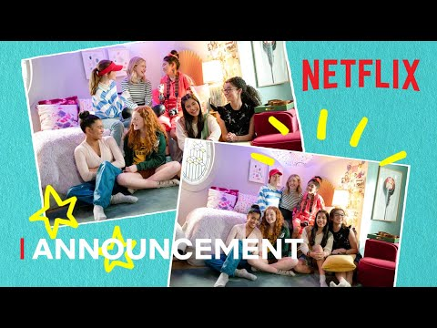 We're Filming Season 2! l The Baby-Sitters Club l Netflix Futures