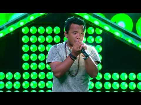 "Santosh Rana - ""Herda Ramro"" - Blind Audition - The Voice of Nepal 2018"