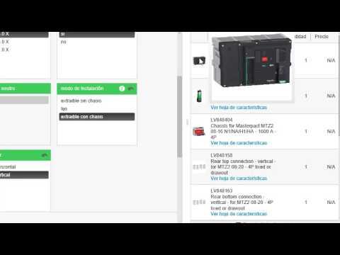 Schneider Electric: Software de configuración MyPact para Masterpact MTZ