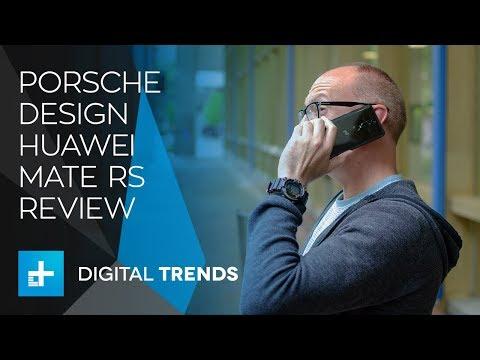 Porsche Design Huawei Mate RS - Hands On Review