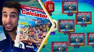 UNA BUSTINA PER OGNI RUOLO! | APERTURA BUSTINE CALCIATORI PANINI 2018 2019 su FIFA 19 EP.5