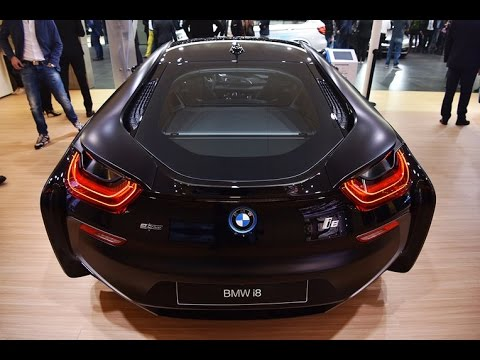 bmw i8 protonic frozen black edition 2017 geneva motor show youtube. Black Bedroom Furniture Sets. Home Design Ideas