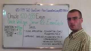 1Z0-599 – Oracle Exam WebLogic Server Test 12c Essentials Questions