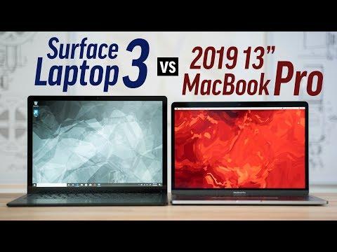 """Surface Laptop 3 vs 13"""" MacBook Pro - Full Comparison"""