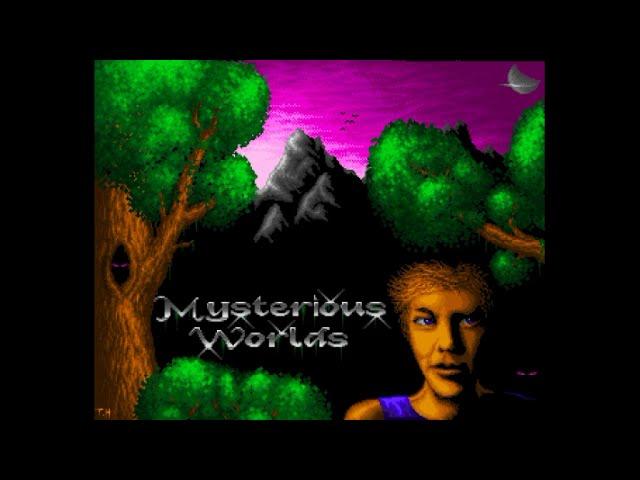 Amiga 500 Longplay [028] Mysterious Worlds (Public Domain)