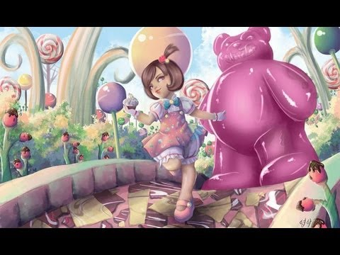 League Of Legends Wallpaper Hd Annie I Reskined Candyland Annie Let S Play League Of