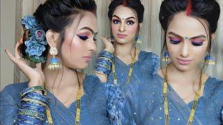 शादी के बाद दुल्हन ऐसे करेगी मेकअप तो ससुराल में दिखेंगी सबसे खूबसूरत Bridal Hairstyle By PriyaDeep